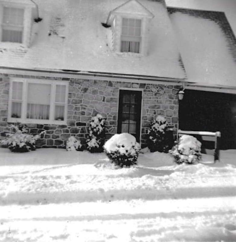 A. Pierce Hagenbuch Stone Home Front 1948