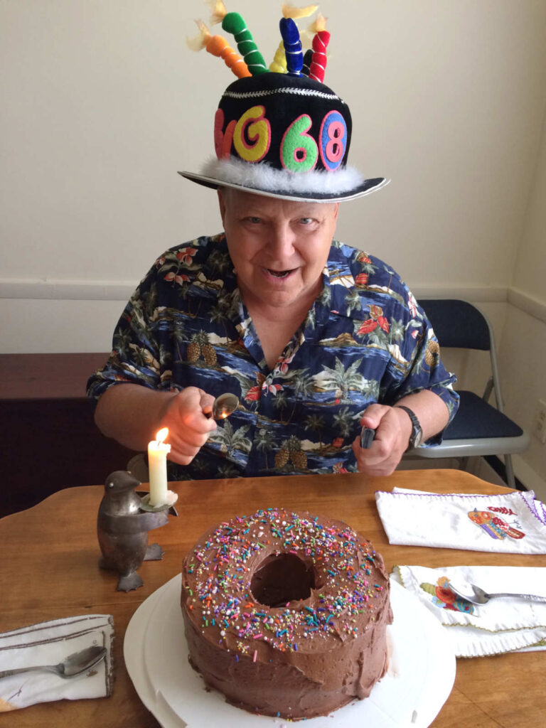 Mark Hagenbuch Birthday Cake