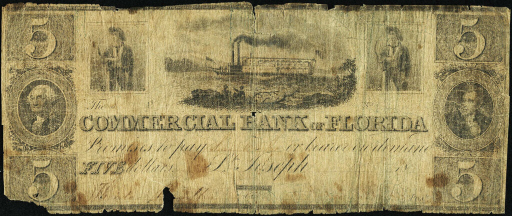 Commercial Bank of Florida Banknote