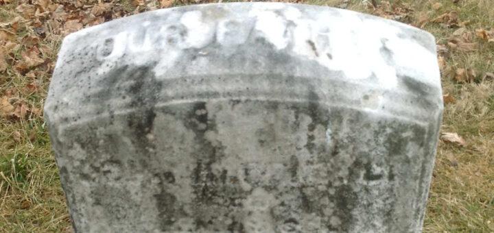 John Hagenbuch 1802 Gravestone