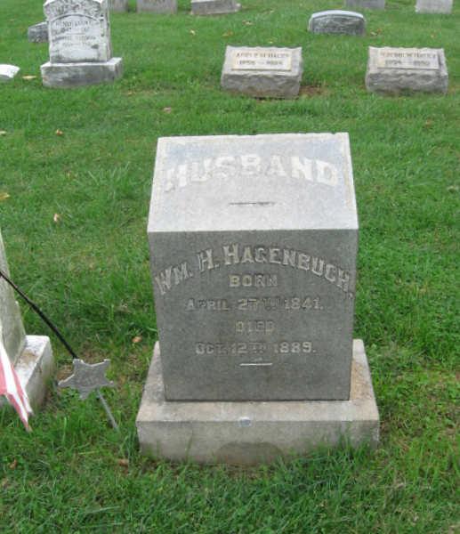 William Hagenbuch 1841 Gravestone