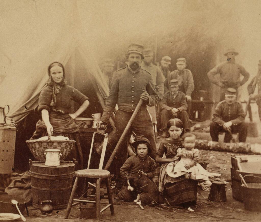 Camp Follower, Civil War, 1862