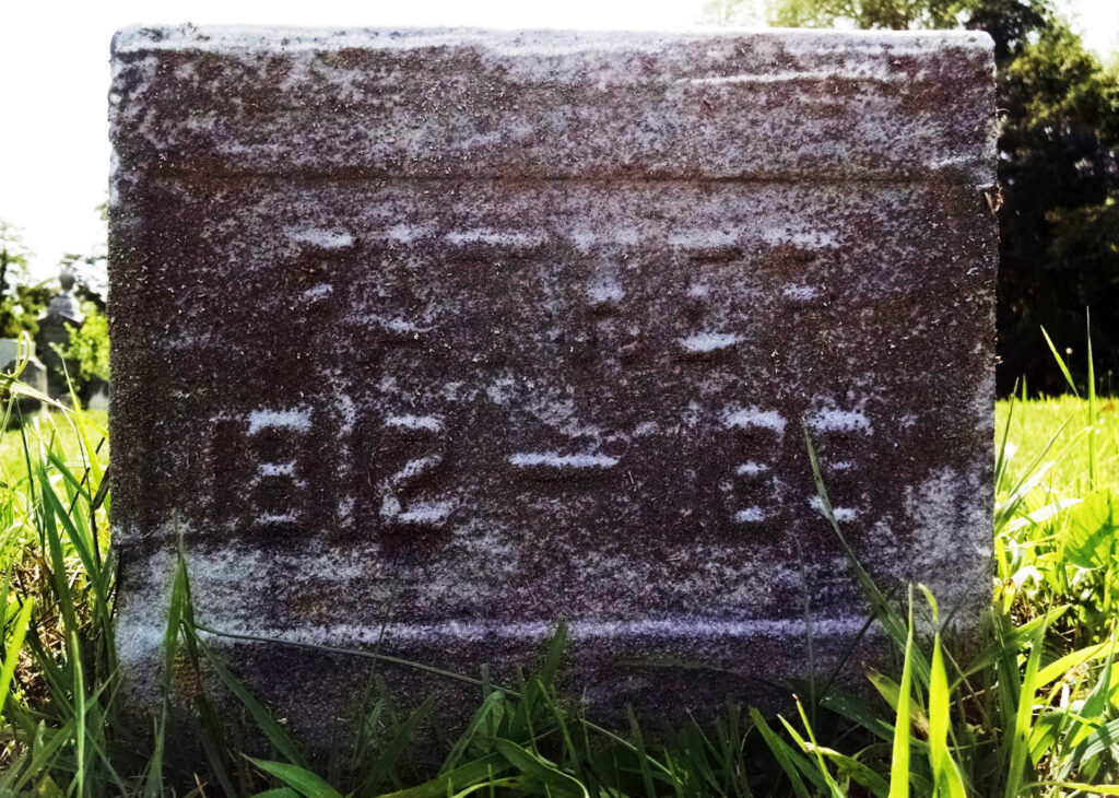 "John Phineus ""Finis"" Hagenbuch Gravestone"