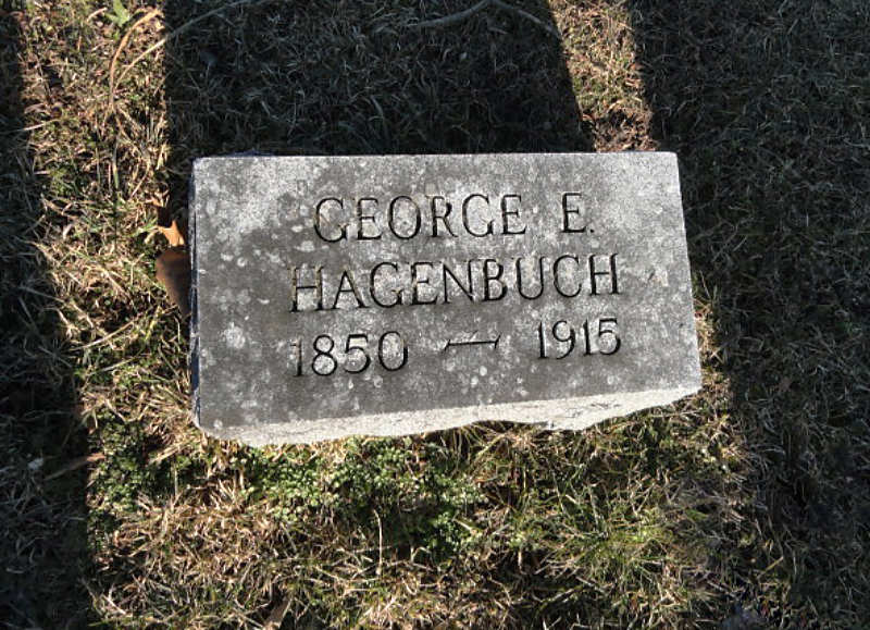 George Eli Hagenbuch Gravestone