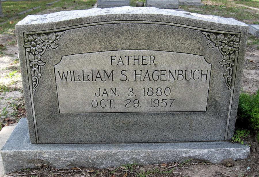 William Solomon Hagenbuch Gravestone
