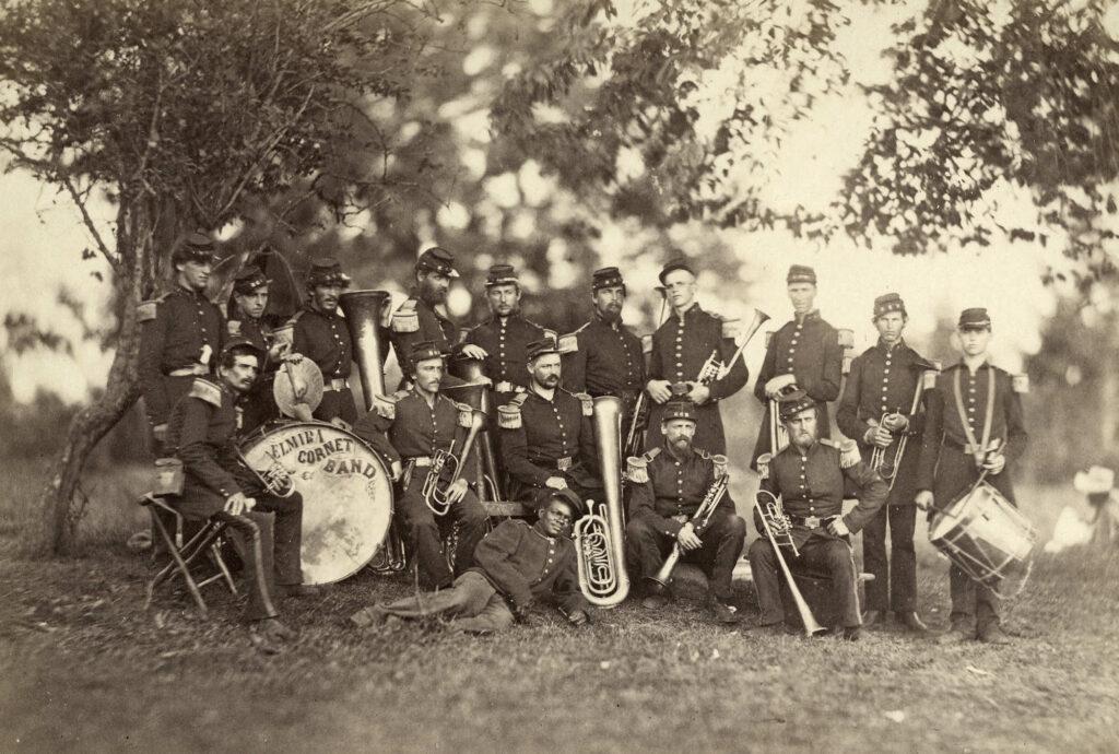 Elmira Cornet Band, June 1861