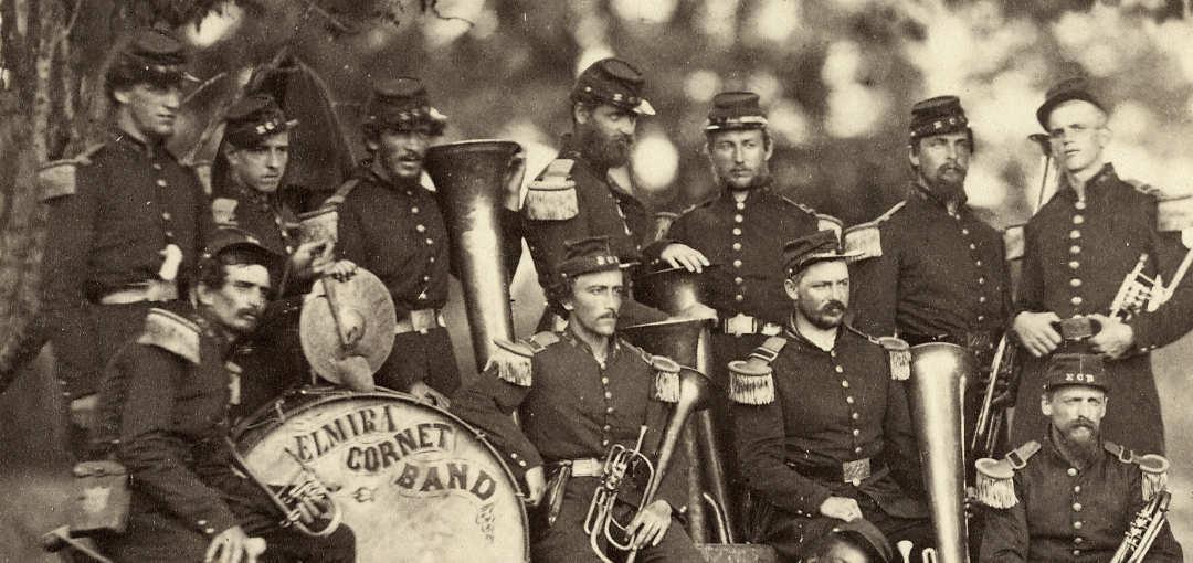 Elmira Cornet Band, June 1861 Detail