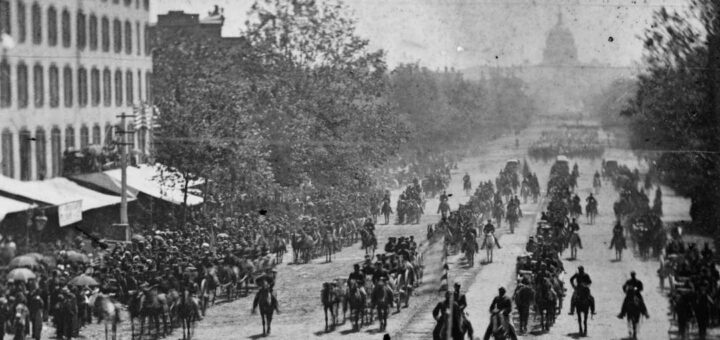 Grand Review of the Armies, May 1865
