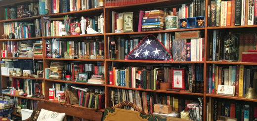Hagenbuch Library Shelves Detail