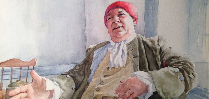 Mark O. Hagenbuch Watercolor Painting